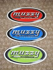 3 Small Muzzy Stickers (Look)