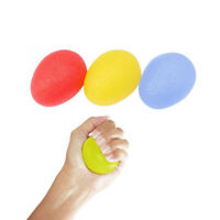 Silicone Egg Stress Ball Hand Exercise Finger Relax Pressure Relief Power Balls