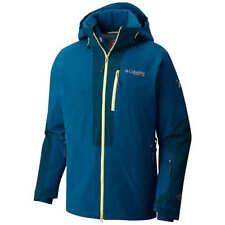NWT Mens Large L Columbia Titanium Powder Keg Down Softshell Ski Winter Jacket
