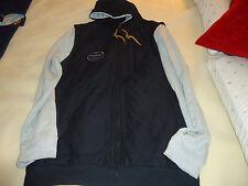 Analog Mandate Zip Jacket xl  nwot blacl grey