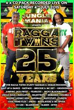 Jungle Mania Presents – Ragga Twins – 25 Years    (25RT6CD)