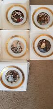 "Royal Copenhagen Denmark Hans Christian Andersen Plate-""The Little Miracle Girl"""