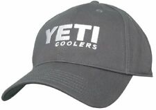 Yeti Coolers Full Panel Hat Cap Gunmetal Gray With Embroidered Logo