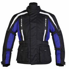 Blousons bleus ajustable pour motocyclette Homme