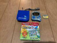 Pokemon mini Console and 2 Games and Original Case & Original Strap Set