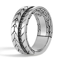 Fashion Punk 925 Silver Filled Rings for Men/women Party Ring Gift Size 6-10