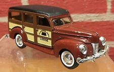 "Vintage Ertl Die Cast Car - 1940  Ford ""Woody"" Station Wagon - Pre-Owned"