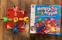 Vintage MB GAMES Hungry Hippos BIG BOX Board Game 1993