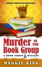 USED (LN) Murder At The Book Group (Thorndike Press Large Print Mystery Series)