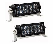 "US 36w Ultra spot 7"" Light bar OSRAM LED off road fog hyper beam race 4x4 truck"