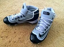 New Nike Huarache 2KFilth Pro MD Baseball Softball Mens Cleats Black/Grey Size 7