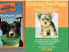 Cocker Spaniels : A Complete Pet Owner's Manual + Homemade Dog Food , 3Books
