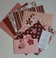 Mini Card Kit Bundle Paper & Embellishments Junk Journal Powder Puffs