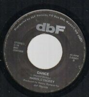 Modern Soul 45  Harold Dickey Dance b/w I'll Never Make You Cry HEAR IT PLAYED