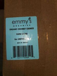 Emmy's Organics Organic Coconut Cookies Dark Cacao - 2 each - 6 oz.