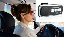 Bluetooth 3.0 Handsfree Wireless Call Speaker Car Kit For iPhone Samsung etc.