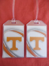 TENNESSEE VOLUNTEERS LUGGAGE TAGS 2-TAG SET - VORTEX - MARCH MADNESS 2018