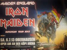 Iron Maiden Oberhausen A0 119cm 2013 Rare Konzert Plakat Concert Callejon Poster