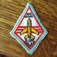 Vietnam War Patch USAF 200 Missions F-100 Fighter Jet Patch