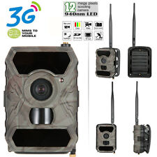3G MMS Trail Camera Home Security Hunting Scouting Cam Wireless IR No Spy Hidden