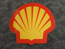 Shell Modern Clam Self-adhesive Vinyl Decal for Petrol Bowser Gilbarco / Wayne