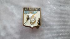 "Petite broche ancienne émaillée /"" BLASON CHAMPAGNE /"""