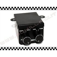 Filtro SUBWOOFER su RCA - controllo remoto volume e frequenza telecomando