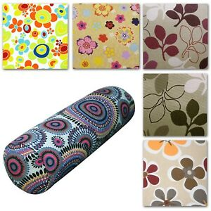Bolster Cover*Aster Cotton Canvas Neck Roll Tube Yoga Massage Pillow Case*AF2