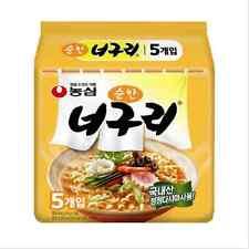 K-Food, [NongShim]Neoguri Spicy Mild Ramyun/Ramen Korean Noodle Soup 5pcs