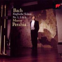 MURRAY PERAHIA - ENGLISH SUITES 1,3 & 6  CD  22 TRACKS JS BACH SOLO PIANO  NEU