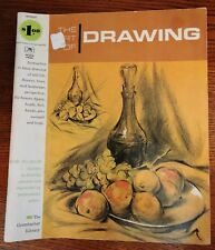 1965 The Art Of Drawing Still Life Flowers Trees Landscape Perspective Art Book