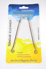 Tongue Cleaner/Scraper 100% Pure Copper Ayurvedic Oral Care Hygiene (No:004)