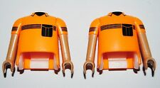 12785 Cuerpo y brazos sport piel moreno sol con ensenada 2u playmobil,body