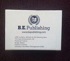 BE Publishing USB Texas Curriculum Teen Entrepreneur Finance  Burger Popcorn BIM