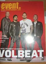 event  190/19 Volbeat,Saxon,Ozzy Osbourne,Midnight Oil, The B-52s,Smokie,Kershaw