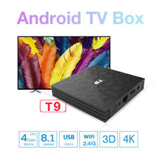 T9 Ultra Android 8.1 Quad Core 4GB RAM 32GB Storage 4K HD TV Box