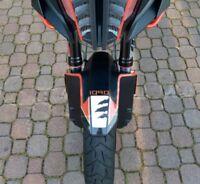 PROTEZIONE PARAFANGO ANTERIORE adesivi 3D compatibili x MOTO KTM 1090 ADVENTURE