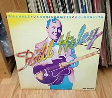"""BILL HALEY & His Comets LP """" Golden Hits """" MCA Canada 1972'  2 LP's"""