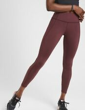 Athleta Lightning Tight  Size Small NWT Color Antique Burgundy