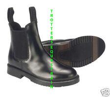 childs size 13 leather horse riding jodhpur/jodphur boots black