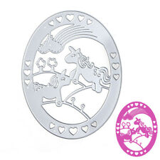 Horse Metal Cutting Dies Stencils DIY Scrapbook Album Embossing Card Paper Craft