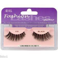 Ardell 118 Fashion Lashes Glamour 100% Human Hair Eyelashes (Black)     B