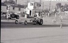 Pomona California - Starting Line Scene - Vintage 35mm Racing Negative