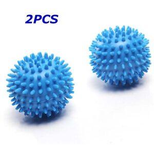 2pcs Washer Balls Reusable Dryer Ball Laundry Scrubbing Balls Tangle-Free Clean