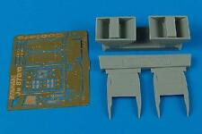 AIRES 4404 Air Coolers for Hasegawa® Kit Ju87D Stuka in 1:48