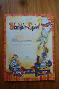 Blockflötenspiel - Schule für die Sopran-Blockflöte Heft 1 Breitkopf EB 8760