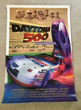 Daytona 500 The Movie Poster Dale Earnhart Rusty Wallace Jeff Gordan