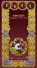 "Johnny The Fox Poster Print 23""x16""  By Jim Fitzpatrick. Thin Lizzy, Album art."