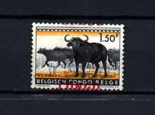 Belgisch Congo Belge Rep. Congo n° 405a MH Shifted Overprint a Cheval Animals