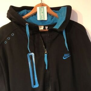 Nike Hoodie / Jacket - Extra Large  90's Vintage Clothing Full Zip XL